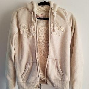 Hollister fur-lined hoodie